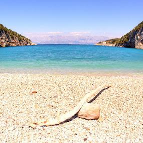 Beach by Jaksa Kuzmicic - Landscapes Waterscapes ( sea, hvar, beach )