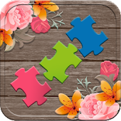 Puzzles for adults flowers