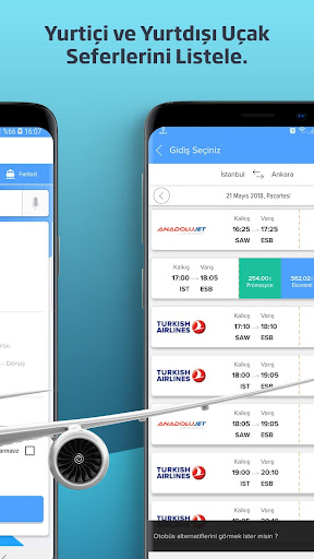 Biletall I Otobüs ve Uçak Bileti 4.2.7 screenshots 2