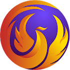 Phoenix Browser - Video Download, Private, Fast icon