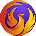 Phoenix Browser -Video Download, Data Saving, Fast icon