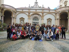 Photo: 05/05/2015 - Delegazione di studenti dell'Istituto comprensivo del Comune di Costigliole Saluzzo (Cn) con studenti francesi del College di Valence.