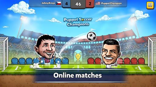 ⚽ Champions de football de marionnette ❤️?  captures d'écran 1