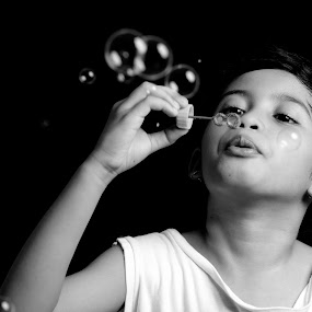 Bubbles by Dx Bragais - Babies & Children Child Portraits ( child, child portraits )