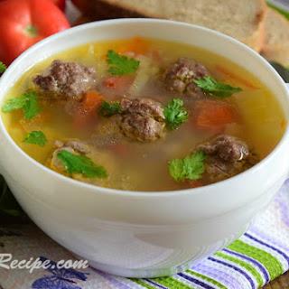 Soup With Meatballs Potato Recipes