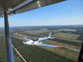 Photo: Skyleader 200 de Thierry en patrouille avec moi