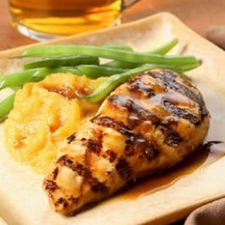 Maple-Glazed Chicken Breasts.