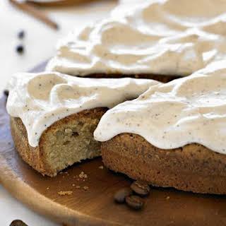 Spiced Coffee Sponge Cake.