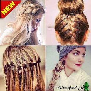 The Idea of a Beautiful Woman's Hair Braid - náhled