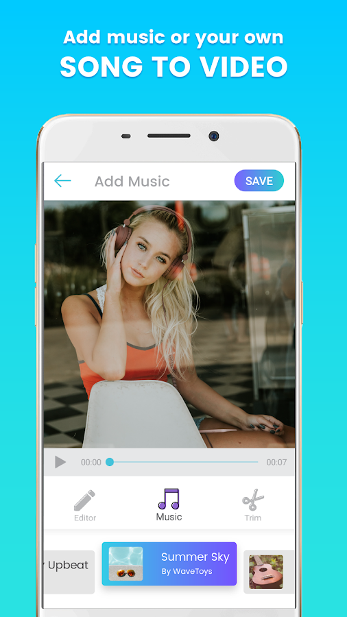 Story Video Editor with music, stickers – Kruso (Unreleased)- screenshot