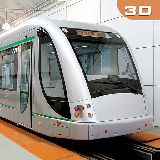 Driving Metro Train Sim 3D