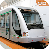 Driving Metro Train Sim 3D