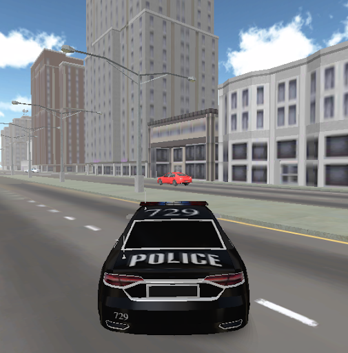 traffic police chase 3D