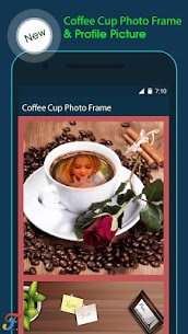 Coffee Cup Photo Frame 2