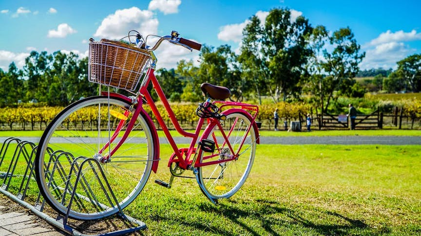 riding a bike is an essential part to thinking like a local in the Netherlands
