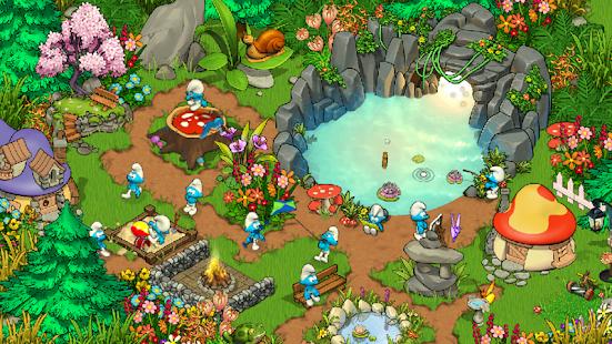 Smurfs' Village google play ile ilgili görsel sonucu