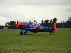 Photo: North American SNJ-5 Texan, D-FHGL, Red Bull