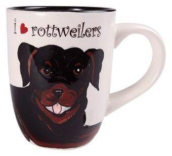Rescue Me Now Rottweiler Mug - George