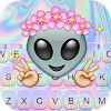 Cute Alien Keyboard Theme