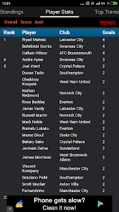 Fixtures and Standings for EPL- screenshot thumbnail