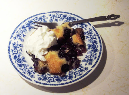 BLUEBERRY COBBLER  an Heirloom from the 40's! Recipe