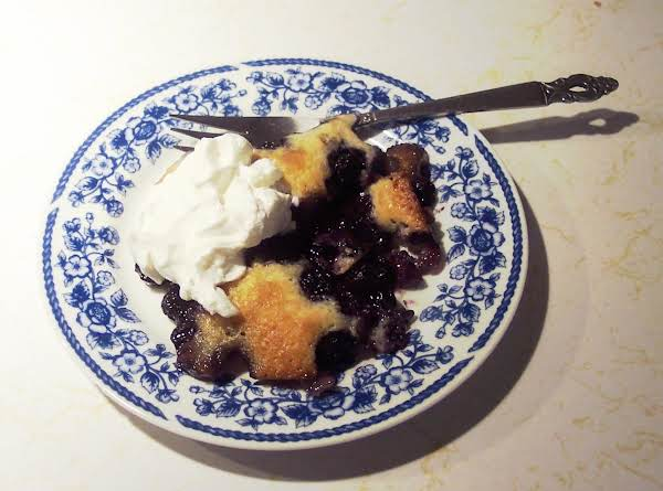 Blueberry Cobbler  An Heirloom From The 40's!