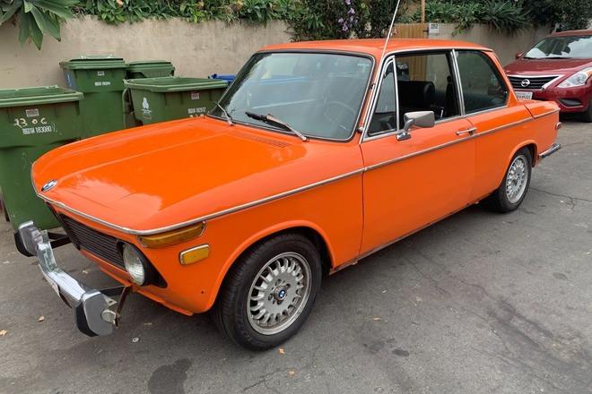 1972 BMW 2002 Inka (Orange) Hire CA 90026