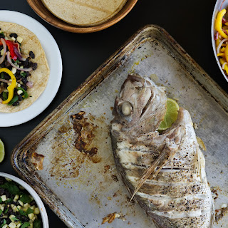 Roasted Whole Snapper (Tacos) Recipe