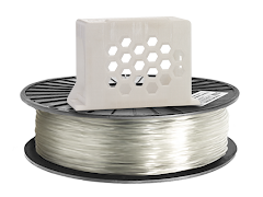Translucent Clear PRO Series PETG Filament - 1.75mm (1kg)