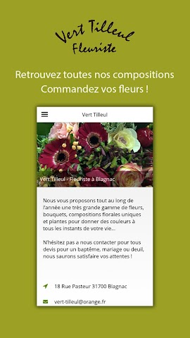 android Vert Tilleul Screenshot 1