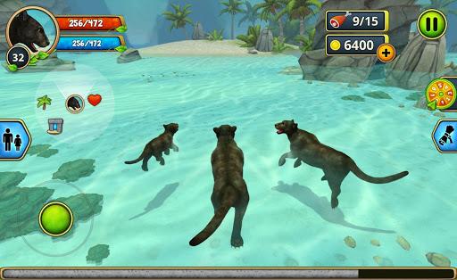 Panther Family Sim Online - Animal Simulator  screenshots 7