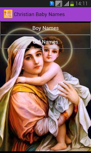 Christian Baby Names
