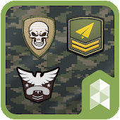 Military Patches Multi theme
