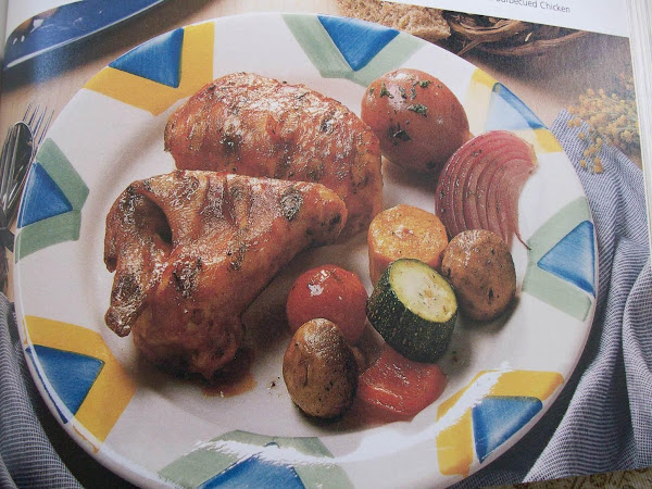 Baked Barbecued Chicken Recipe