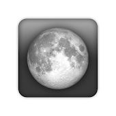 Einfaches Mondphasen Widget icon