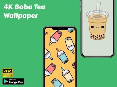 4K Boba Tea Wallpaper 1