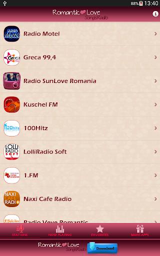 Romantic Love Songs Radio 52.0 screenshots 2