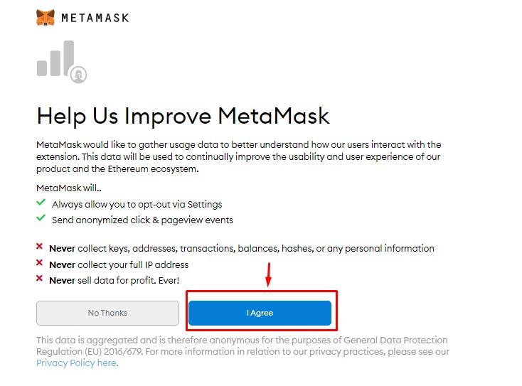 Cài đặt ví Metamask