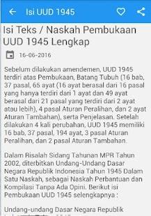 Isi UUD 1945 dan Amandemen - náhled