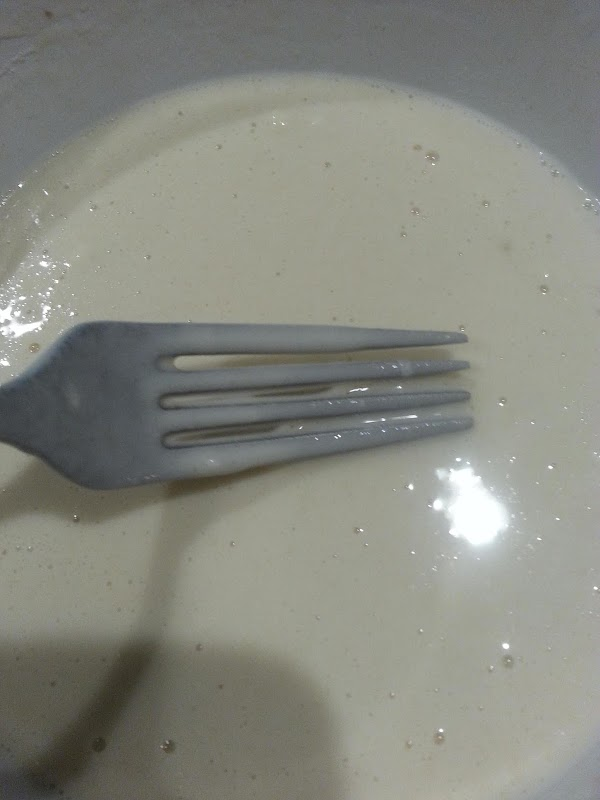 Mix all ingredients for batter until smooth