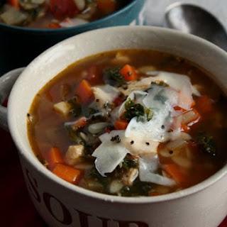Chicken & Vegetable Soup w/ Pasta