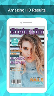 Photo Magazine Cover Maker - náhled