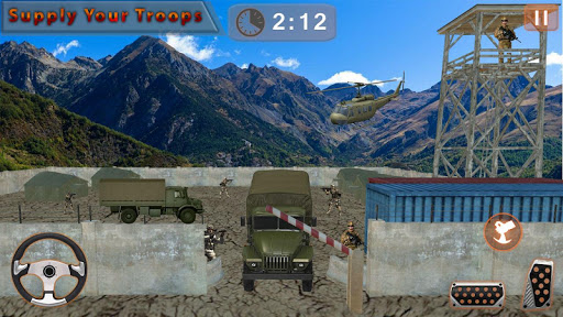 Army Cargo Truck Off-road Drive for PC