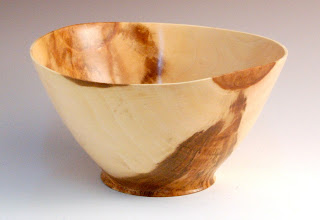 "Photo: Tim Aley - Bowl - 7 1/2"" x 4"" - Sycamore"