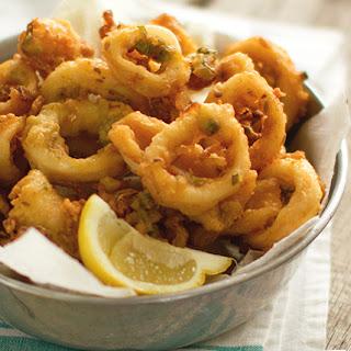 Squid Pakora Recipe