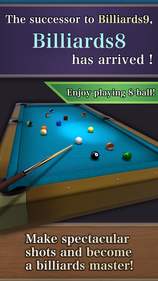 Billiards8 (8 Ball & Mission)- screenshot