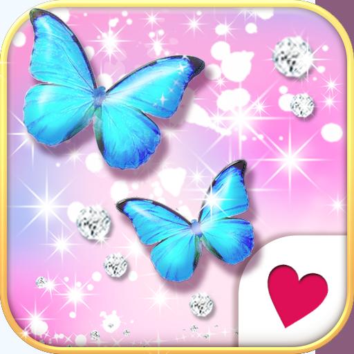 可愛換裝桌布★Jewel Butterfly 個人化 App LOGO-硬是要APP
