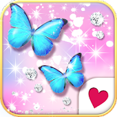 Cutewallpaper★Jewel Butterfly