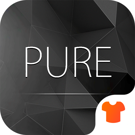 Pure Black Launcher Theme - Apps on Google Play