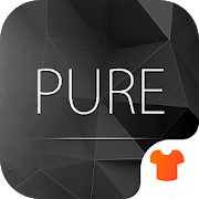 Pure Black Launcher Theme